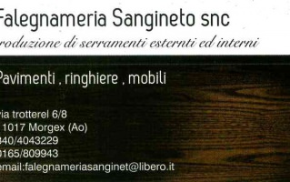 Falegnameria Sangineto di Sangineto Salvatore & C. S.n.c.