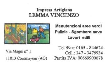Impresa Lemma di Lemma Vincenzo